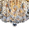 "Picture of 20"" 6 Light  Flush Mount with Gold finish"