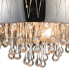 "Picture of 20"" 6 Light Drum Shade Chandelier with Chrome finish"