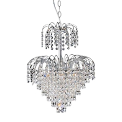 "20"" 7 Light  Chandelier with Chrome finish"