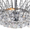 "Picture of 20"" 8 Light  Flush Mount with Chrome finish"