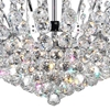 """Picture of 20"""" 8 Light  Flush Mount with Chrome finish"""