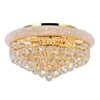 """Picture of 20"""" 8 Light  Flush Mount with Gold finish"""