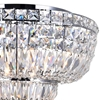 "Picture of 20"" 8 Light Bowl Flush Mount with Chrome finish"