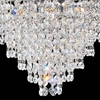 "Picture of 20"" 8 Light Down Chandelier with Chrome finish"
