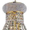 "Picture of 20"" 8 Light Down Chandelier with Gold finish"