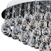 "Picture of 20"" 9 Light  Flush Mount with Chrome finish"