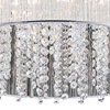 "Picture of 20"" 9 Light Drum Shade Chandelier with Chrome finish"