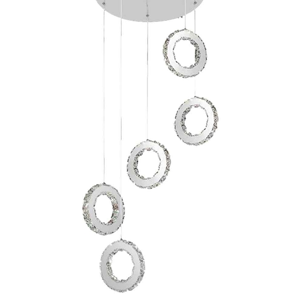 "Brizzo Lighting Stores 32 Anelli Modern Crystal Round: Brizzo Lighting Stores. 20"" Anelli Modern Crystal"