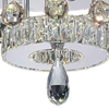 """Picture of 20"""" LED  Flush Mount with Chrome finish"""