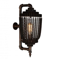 """21"""" 1 Light Wall Sconce with Speckled copper finish"""