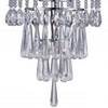 "Picture of 21"" 3 Light  Chandelier with Chrome finish"