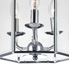 "Picture of 21"" 3 Light Up Chandelier with Chrome finish"