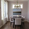 """Picture of 21"""" 5 Light Up Chandelier with French Gold finish"""