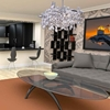 """Picture of 21"""" 8 Light  Chandelier with Chrome finish"""
