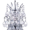 "Picture of 21"" 8 Light Down Chandelier with Chrome finish"