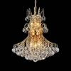 "Picture of 21"" 8 Light Down Chandelier with Gold finish"