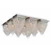 """Picture of 21"""" 9 Light  Flush Mount with Chrome finish"""