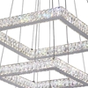 "Picture of 21"" LED  Chandelier with Chrome finish"