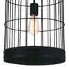 """Picture of 22"""" 1 Light Down Mini Pendant with Black finish"""