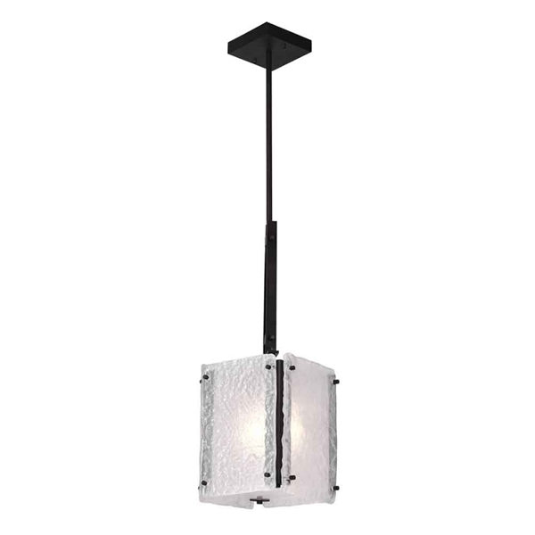 """Picture of 22"""" 1 Light Pendant with Black Finish"""