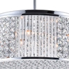 "Picture of 22"" 12 Light Down Chandelier with Chrome finish"