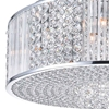 """Picture of 22"""" 12 Light Down Chandelier with Chrome finish"""