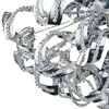 """Picture of 22"""" 13 Light  Flush Mount with Chrome finish"""