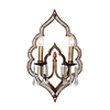 "Picture of 22"" 2 Light Wall Sconce with Champagne finish"