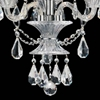 "Picture of 22"" 3 Light Up Chandelier with Chrome finish"