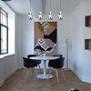 """Picture of 22"""" 4 Light Multi Light Pendant with Chrome finish"""