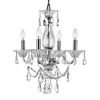 "Picture of 22"" 4 Light Up Chandelier with Chrome finish"