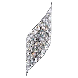 "22"" 4 Light Wall Sconce with Chrome finish"