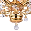 "Picture of 22"" 6 Light  Flush Mount with Gold finish"