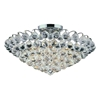 "Picture of 22"" 8 Light  Flush Mount with Chrome finish"