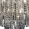 """Picture of 22"""" 8 Light Down Chandelier with Chrome finish"""