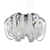 "Picture of 22"" 8 Light Down Chandelier with Chrome finish"