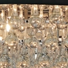 """Picture of 22"""" 8 Light Drum Shade Chandelier with Chrome finish"""