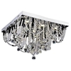 "Picture of 22"" 9 Light  Flush Mount with Chrome finish"
