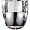 "Picture of 22"" Bolle Modern Chrome Coated Crystal Linear Eliptical Mini Pendants Rectangular Base 4 Lights"