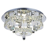 """Picture of 22"""" LED  Flush Mount with Chrome finish"""