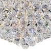 "Picture of 22"" Primo Transitional Round Crystal Flush Mount Ceiling Chandelier Polished Chrome 12 Lights"