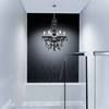 """Picture of 22"""" Victorian Traditional Crystal Round Chandelier Jet Black 6 Lights"""