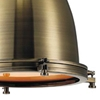 "Picture of 23"" 1 Light Down Mini Pendant with Antique Bronze finish"