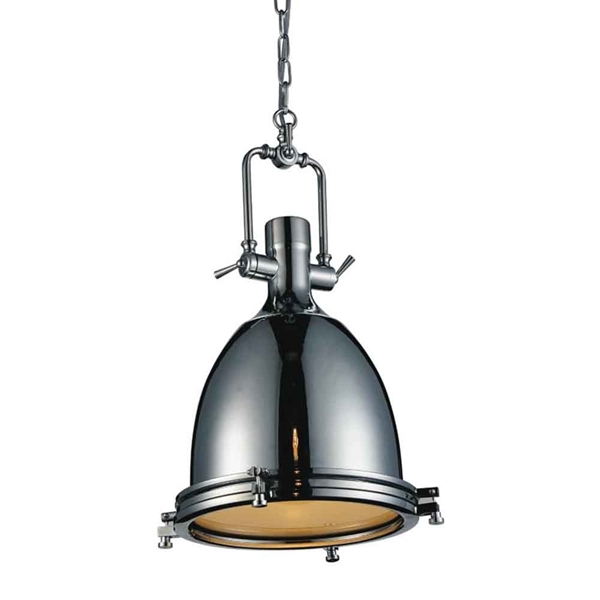 "Picture of 23"" 1 Light Down Mini Pendant with Chrome finish"