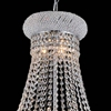 "Picture of 23"" 14 Light Down Chandelier with Chrome finish"