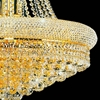 "Picture of 23"" 14 Light Down Chandelier with Gold finish"
