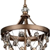 "Picture of 23"" 4 Light Up Pendant with Speckled Bronze finish"