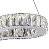 "Picture of 23"" LED  Chandelier with Chrome finish"