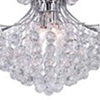 "Picture of 24"" 10 Light Down Chandelier with Chrome finish"