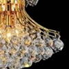 "Picture of 24"" 10 Light Down Chandelier with Gold finish"